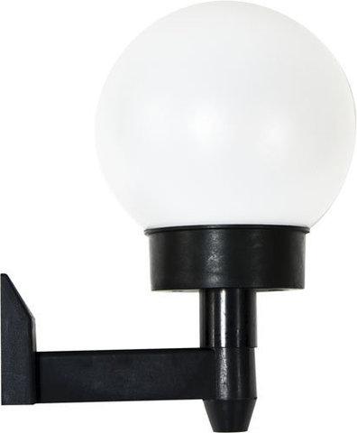 Светильник садово-парковый на солнечной батарее настенный «Шар» 2 белыx LED, 1 X NiCD батарея, PL248 (Feron)