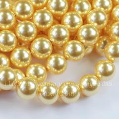 5810 Хрустальный жемчуг Сваровски Crystal Gold круглый 10 мм