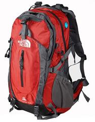 Туристический рюкзак  North Face electron 50L Красный