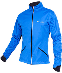 Детская лыжная куртка Nordski Premium NSM300700 синяя