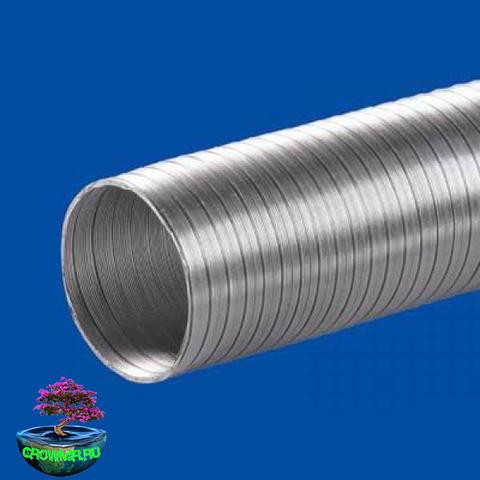 Воздуховод алюминиевый- 100 ( 3 м.)
