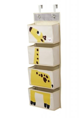 Органайзер на стену 3 Sprouts Жёлтый жираф