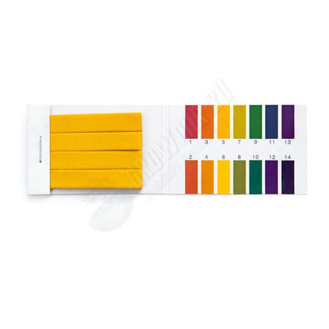 Тест-полоски GROW UNIVERSAL для измерения pH от 1 до 14 pH
