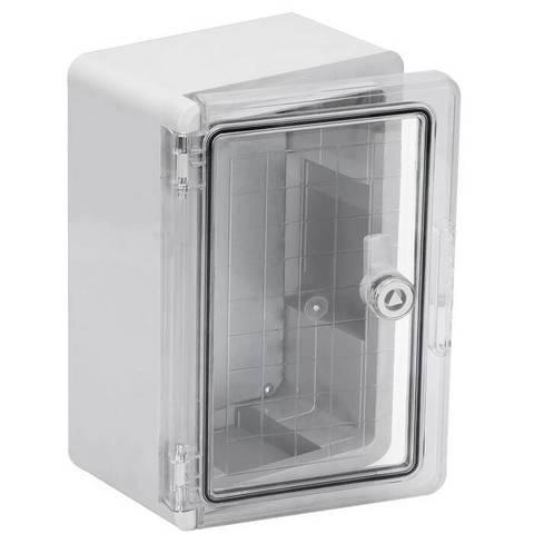 Бокс пластиковый ЩМП-0-1, прозр., крышка, ABS, IP65, -45 до +75 С, навесной, (300x200x130) TDM