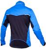 Лыжная разминочная куртка для детей и подростков Nordski Premium синяя из утепленного ветрозащитного SoftShell