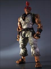 Уличный боец фигурка Акума в белом костюме (копия) — Street Fighter Gouki Akuma White Play Arts Kai (copy)