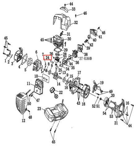 Палец поршневой  для лодочного мотора T2 SEA-PRO