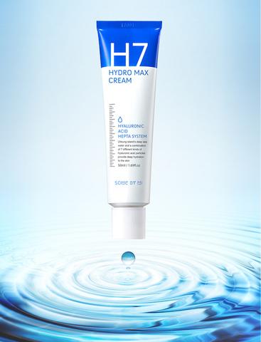 Глубокоувлажняющий крем с 7 видами гиалуроновой кислоты, 50 мл / Some By Mi H7 Hydro Max Cream
