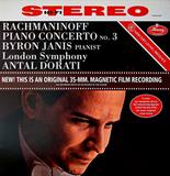 Rachmaninoff, Byron Janis, London Symphony, Antal Dorati / Piano Concerto No. 3 (LP)