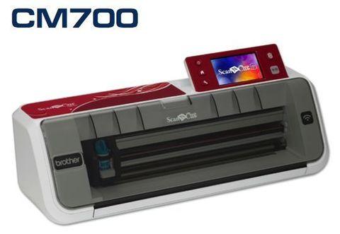 Режущий (раскройный, сканирующий) плоттер Brother ScanNCut CM700