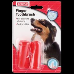 Beaphar Finger Toohtbrush зубная щетка двойная на палец 1*2