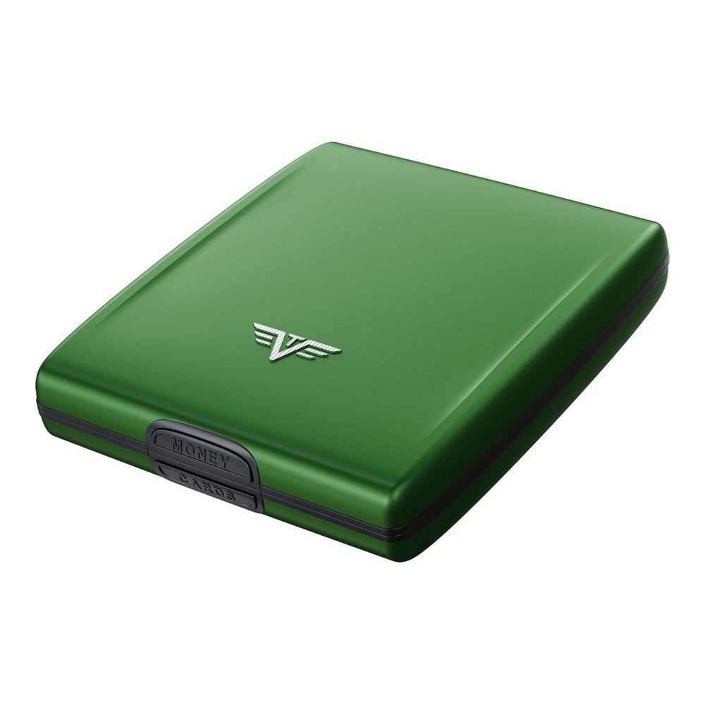 Кошелек c защитой Tru Virtu BELUGA, цвет зеленый, 107*93*22 мм