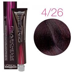 L'Oreal Professionnel Dia Richesse 4.26 (Сливово-красный) - Краска для волос