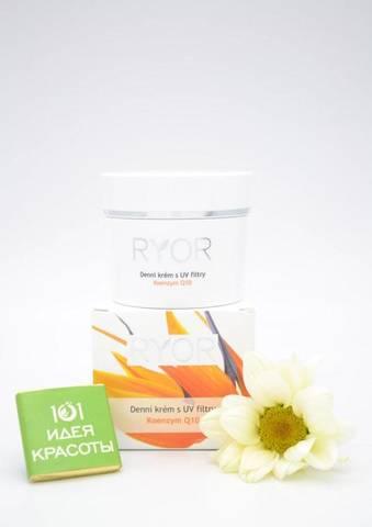 Ryor Дневной крем с коэнзим Q10 и UV фильтром (35+), 50мл