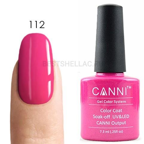 Canni Canni, Гель-лак № 112, 7,3 мл 112.jpg