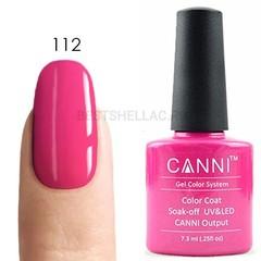 Canni, Гель-лак 112, 7,3 мл