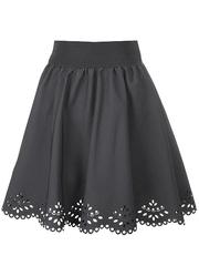 2215-3 юбка детская, серая