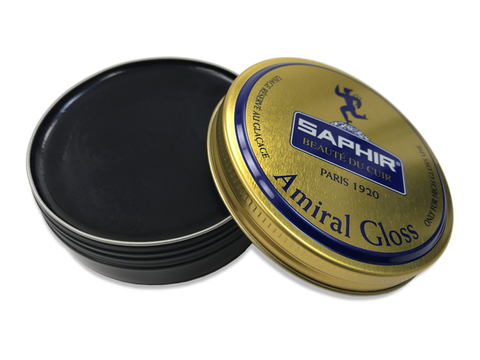 Крем для глассажа - зеркального блеска sphr0062 SAPHIR AMIRAL GLOSS, 50мл. (2 цвета)