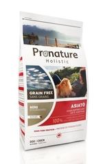 Корм для собак, Pronature Holistic Grain Free Asiato (мелкая гранула)