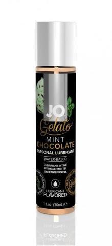 Вкусовой лубрикант JO GELATO MINT CHOCOLATE FLAVORED LUBRICANT (разный объем)