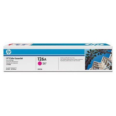 Картридж HP 126A (HP CE313A) пурпурный для HP LaserJet Pro CP1025, CP1025nw (ресурс 1000 стр.)