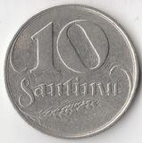 K7109, 1922, Латвия, 10 сантимов