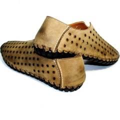 Летние туфли мужские casual Luciano Bellini 107703 Beige.