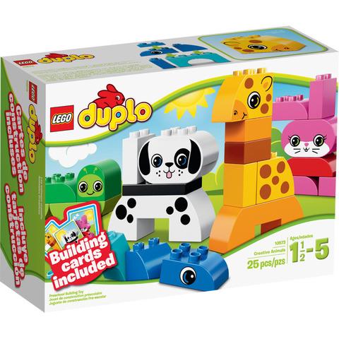 LEGO Duplo: Весёлые зверюшки 10573 — Creative Animals — Лего Дупло