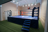 Ринг боксерский на помосте, разборный, помост 6х6м, высота 1м, боевая зона 5х5м.