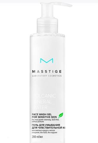 Masstige Volcanic Mineral Water Гель для умывания для чувствительной кожи 200мл