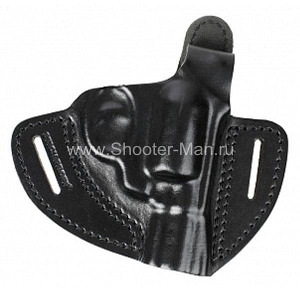 Кобура кожаная для револьвера Гроза Р-02 ( модель № 2 ) Стич Профи