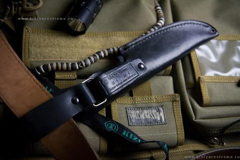 Охотничий нож Ш-4 Sandvik 2,5 Полированный Эластрон
