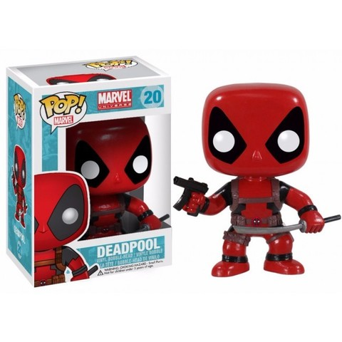 Фигурка Funko POP! Bobble: Marvel: Deadpool 3052