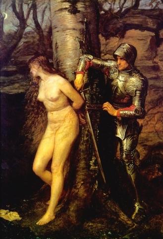 Джон Эверетт Миллес – Странствующий рыцарь. 1870. Тейт Британия, Лондон