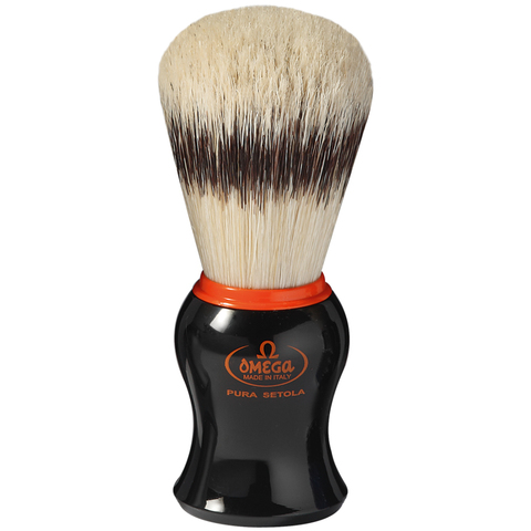 Помазок для бритья Omega натуральный кабан 11574
