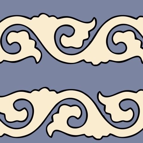 Татарский орнамент №8