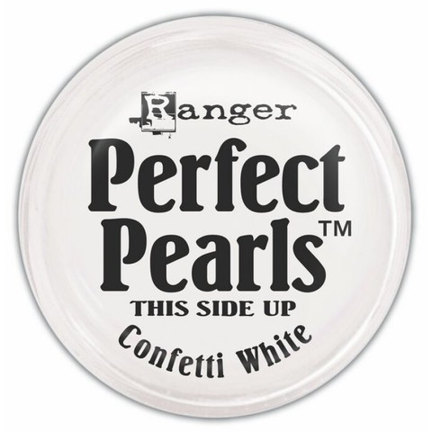 Пигментный порошок  Ranger Perfect Pearls -Confetti White