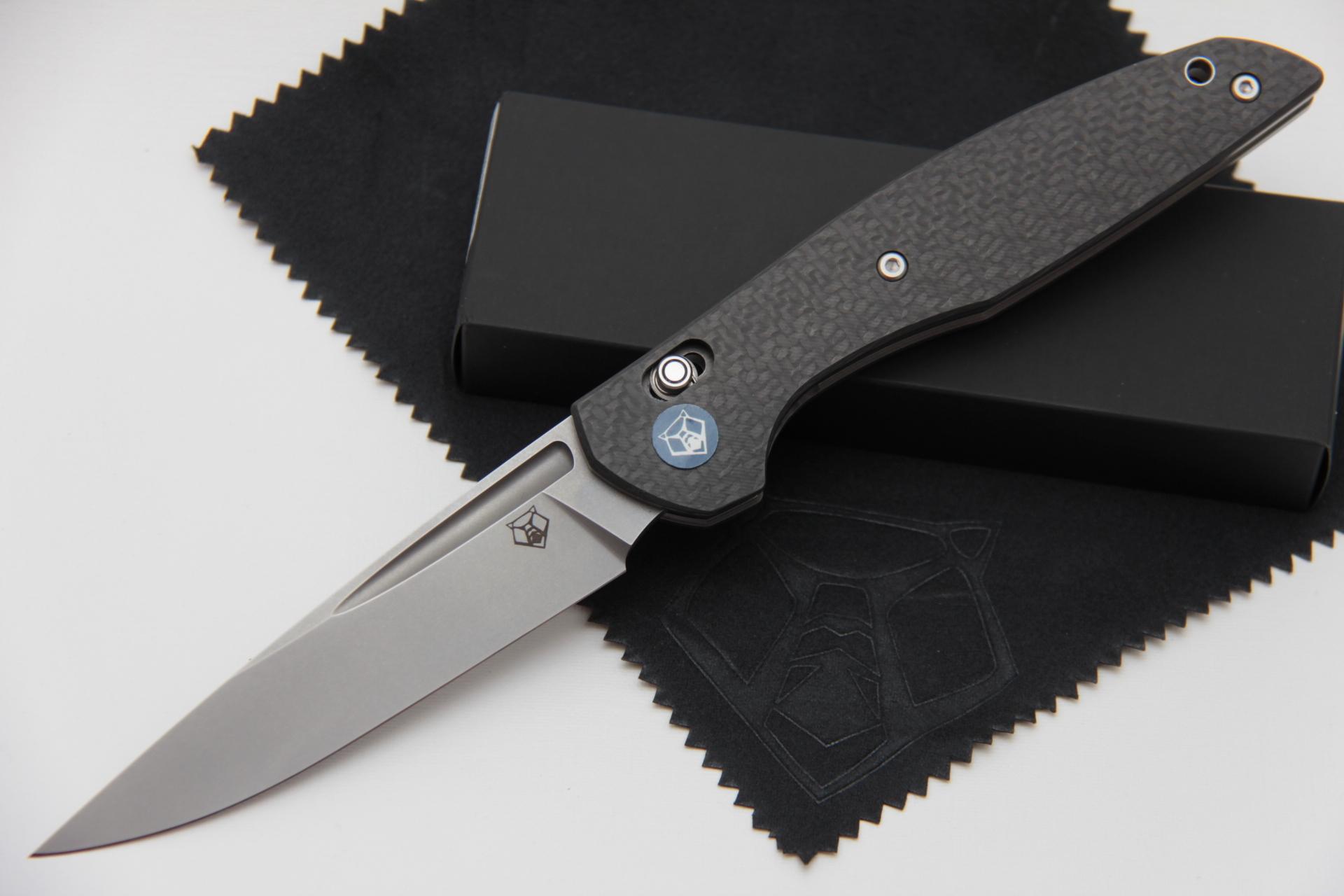 Нож Широгоров 110 S90V карбон 3D долы