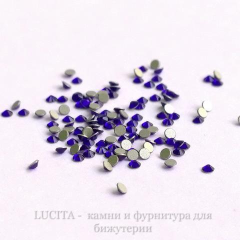 2058 Стразы Сваровски холодной фиксации Cobalt ss 5 (1,8-1,9 мм), 20 штук (WP_20140814_14_01_28_Pro)