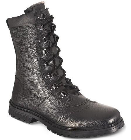 Ботинки зимние на молнии «Ратник» (натуральный мех)