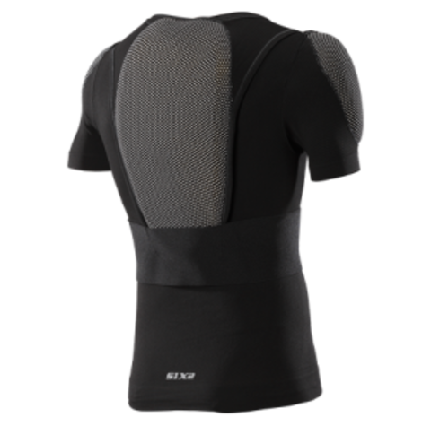 Sixs, Зщитный жакет с коротким рукавом с встроенной защитой Kit Pro Ts8s, черный