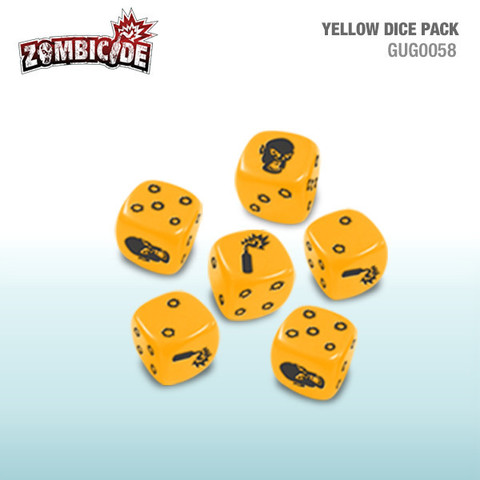 Yellow Dice Pack