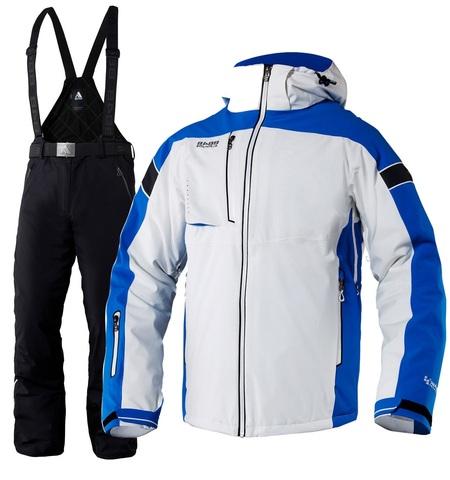 Костюм горнолыжный 8848 Altitude Switch/Dort мужской White/Black