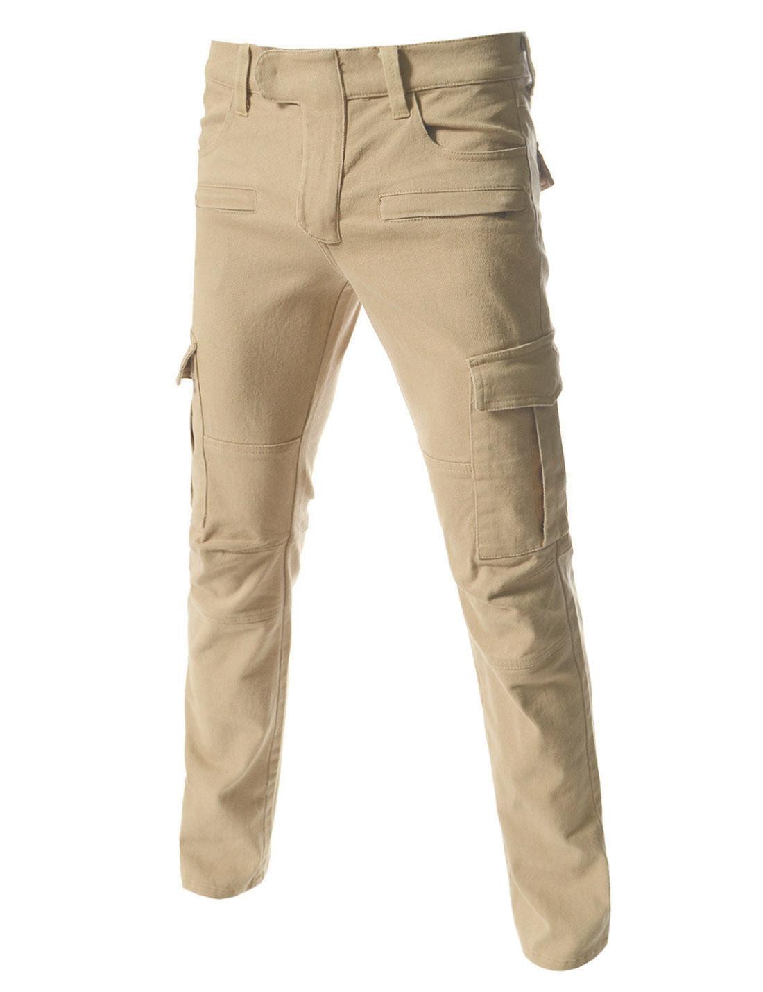 Мужские джинсы с накладными карманами доставка