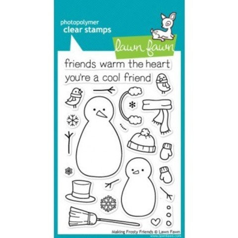 "Набор штампов   ""Making Frosty Friends"""