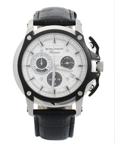 Купить Наручные часы Romanson PL2627HMWBK по доступной цене