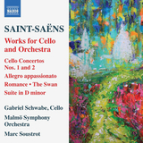 Gabriel Schwabe, Malmo Symphony Orchestra, Marc Soustrot / Saint-Saens: Works For Cello And Orchestra (CD)