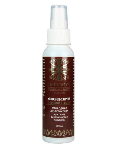Флюид-спрей природная альтернатива мужскому дезодоранту и парфюму, Центр Ароматерапии ИРИС, 100 мл