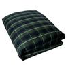 Постельное белье 2 спальное евро Casual Avenue Kingston Green Tartan зеленое