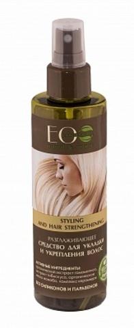 ECOLAB Средство-спрей для укладки и укрепления волос